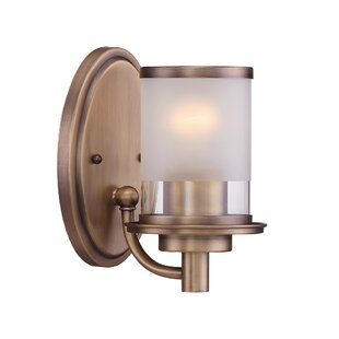 Best Deals Davis 1-Light Armed Sconce By Zipcode Design
