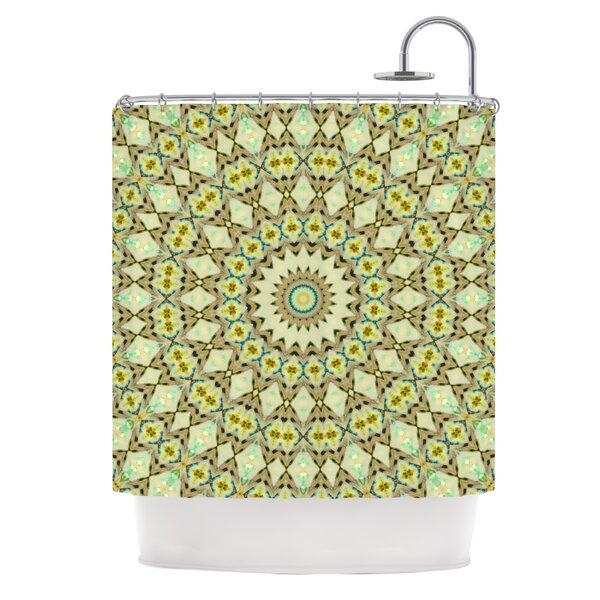 Kaleidoscope by Iris Lehnhardt Geometric Shower Curtain by East Urban Home