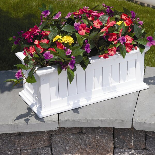 Lexington Wood Window Box Planter by DMC