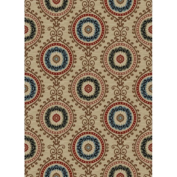 New York Charlotte Cream Area Rug by Rugs of Dalton