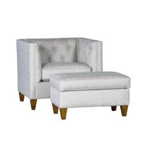 Sudbury Armchair and Ottoman by Chelsea Home Furniture