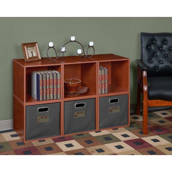 Cube Unit Bookcase By Rebrilliant