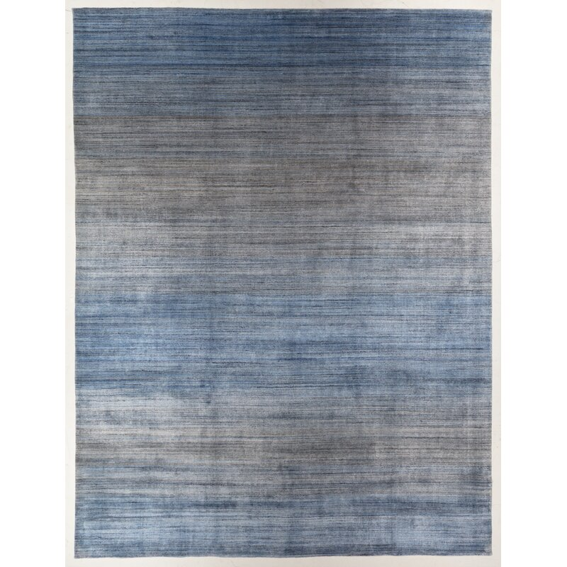 Paquette Rectangle Ombre Hand Loomed
