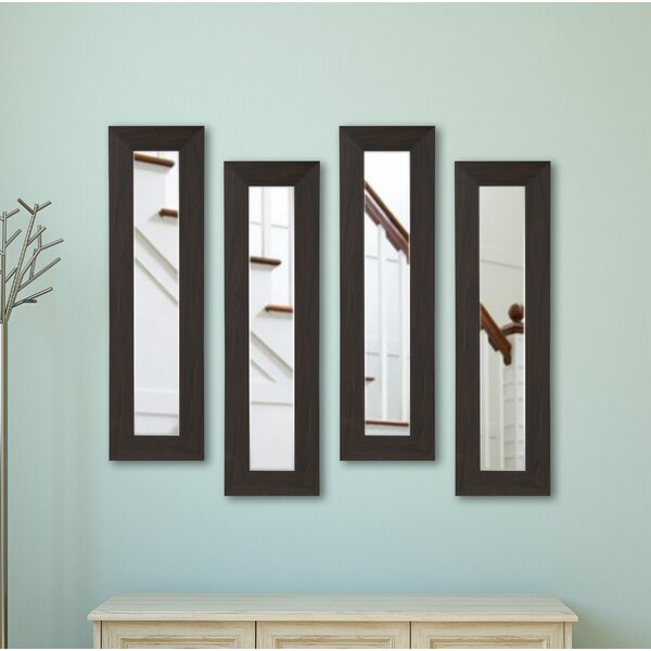 Panel Accent Mirror (Set of 4) by Latitude Run