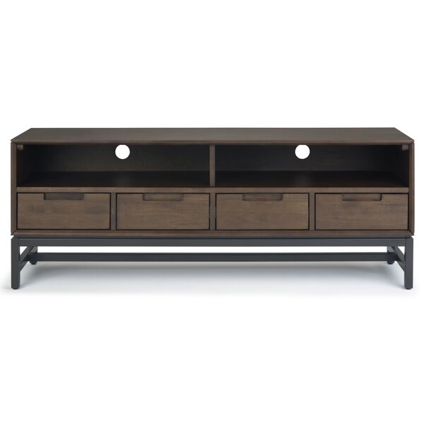 Bak Solid Wood TV Stand For TVs Up To 65