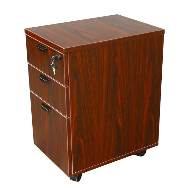 3 Drawer Mobile Pedestal Box by Boss Office Products