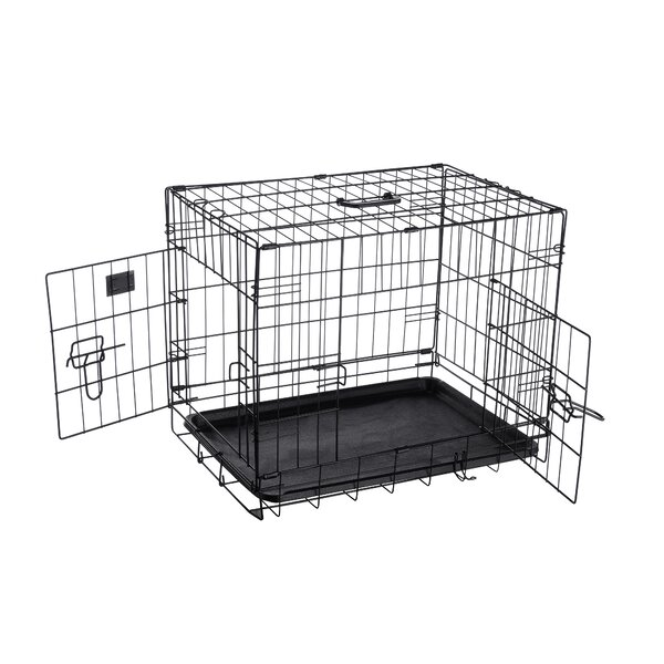 Pharoah Folding Pet Crate Kennel Wire Cage by Tucker Murphy Pet