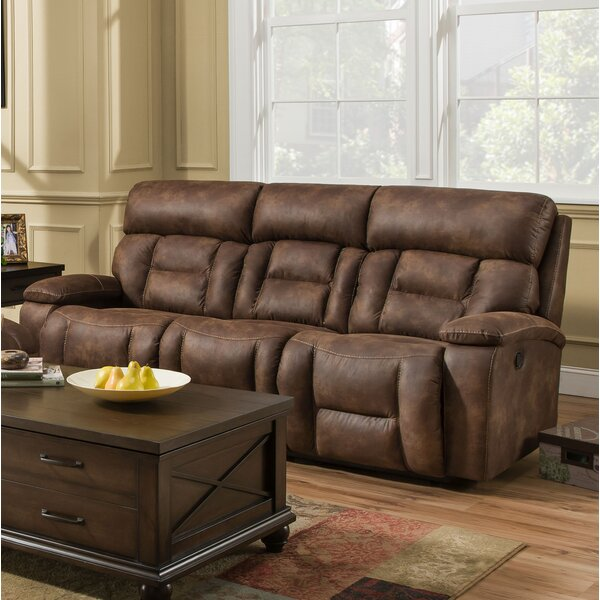 Shop Your Favorite Pledger Reclining Sofa by Loon Peak by Loon Peak