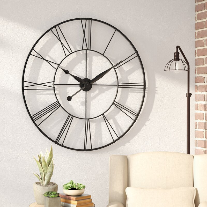 Grafton oversized 45 xxl wall clock