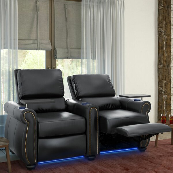 Stallion HR Series Home Theater Recliner (Row Of 2) By Red Barrel Studio
