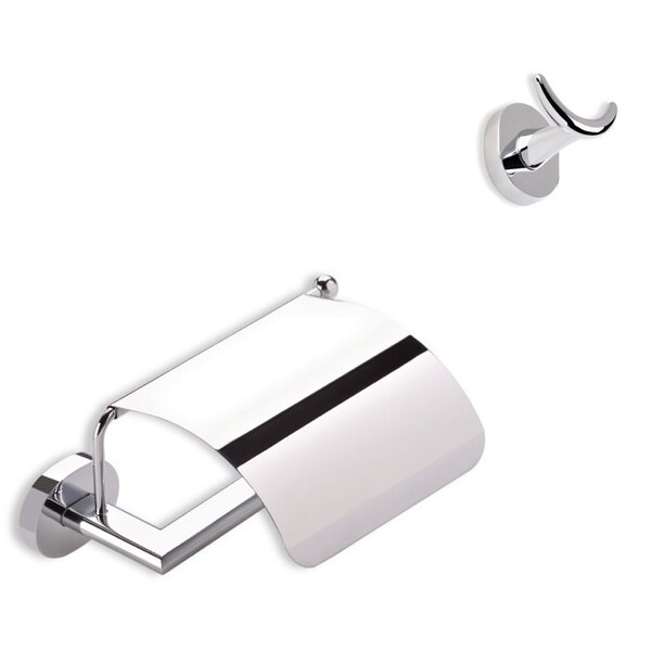 Diana 2 Piece Bathroom Hardware Set by Stilhaus by Nameeks