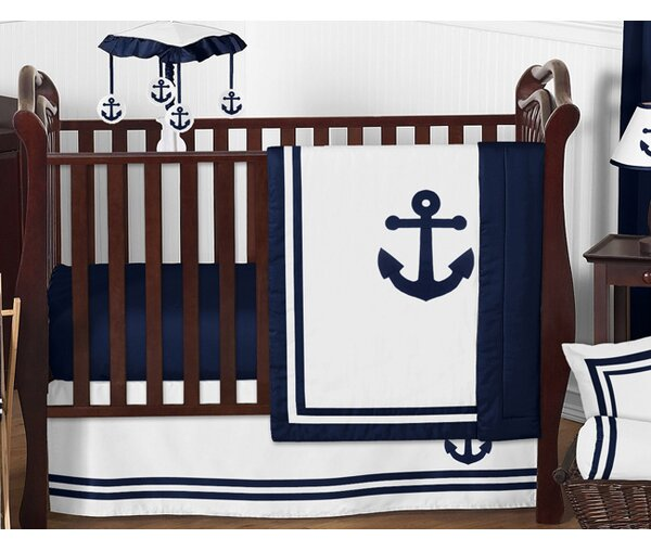 Anchors Away 11 Piece Crib Bedding Set by Sweet Jojo Designs
