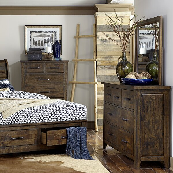 Amey 7 Drawer Dresser with Mirror by Foundry Select