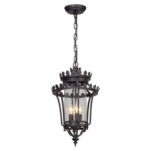 Check Prices Colfax 3-Light Outdoor Pendant By Fleur De Lis Living