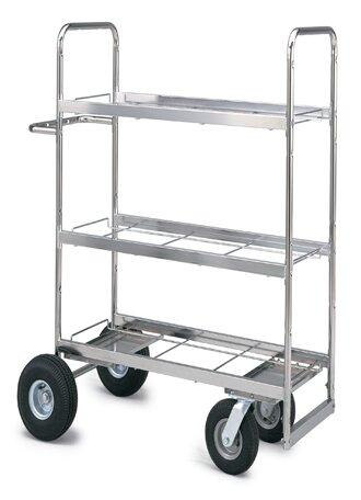 Medium Triple Decker File Cart by Charnstrom