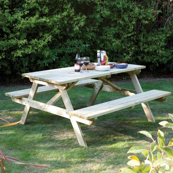 Picnic Table by Rowlinson