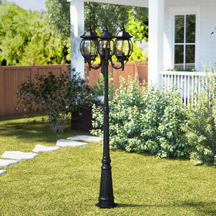 Price comparison Berrier 3-Light 85 Post Light By Fleur De Lis Living