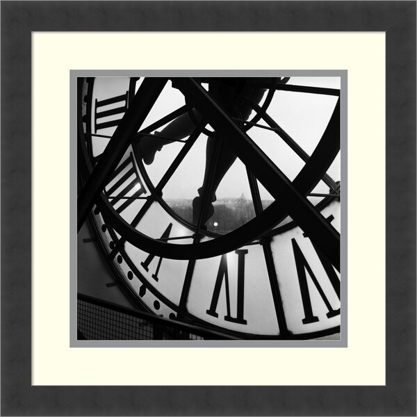 Orsay Clock by Tom Artin Framed Photographic Print by Amanti Art