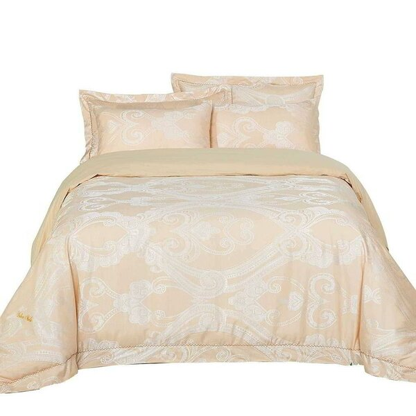 Katrine Cotton 6 Piece Reversible Duvet Cover Set