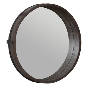 Gracie Oaks Wittman Barrel Accent Mirror