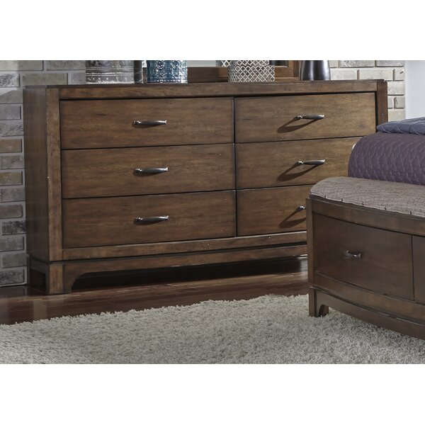 Loveryk 6 Drawer Double Dresser by Darby Home Co Darby Home Co