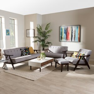 Enrico 4 Piece Living Room Set by Wholesale Interiors