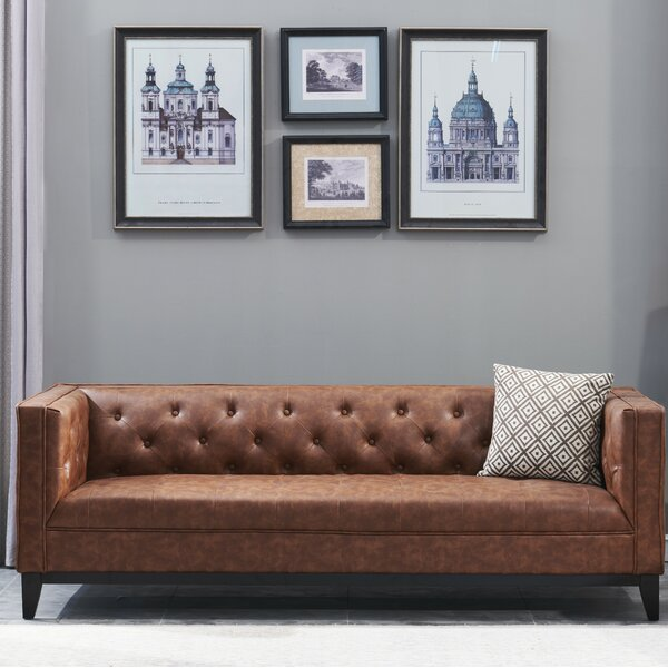#1 Ronald 2 Piece Leather Living Room Set By 17 Stories Spacial Price