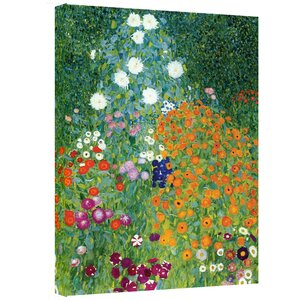 Farm Garden Painting Print on Wrapped Canvas by Alcott Hill