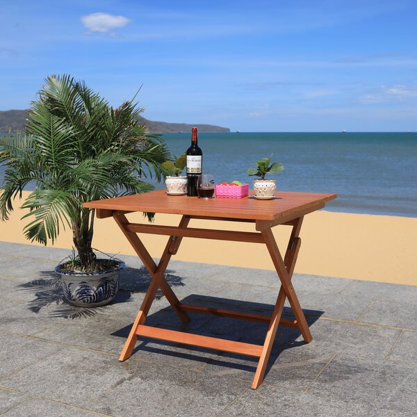 Updegraff Folding Wooden Dining Table by Highland Dunes