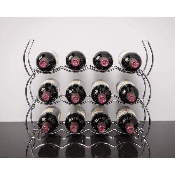 Sachar 12 Bottle Tabletop Wine Bottle Rack By Orren Ellis