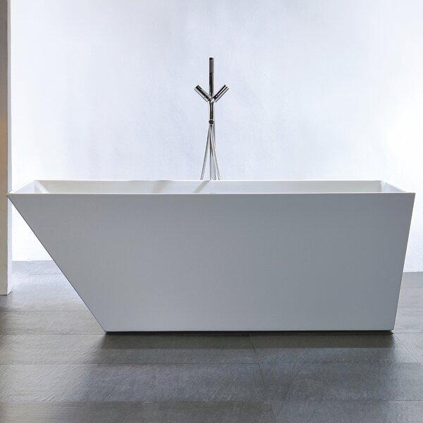 Cabrillo 67 x 29.53 Freestanding Soaking Bathtub by MTD Vanities