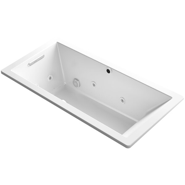 Underscore 66 x 32 Air / Whirlpool Bathtub by Kohler