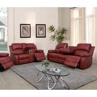 Markman 2 Pieces Recling Living Room Set by Latitude Run®