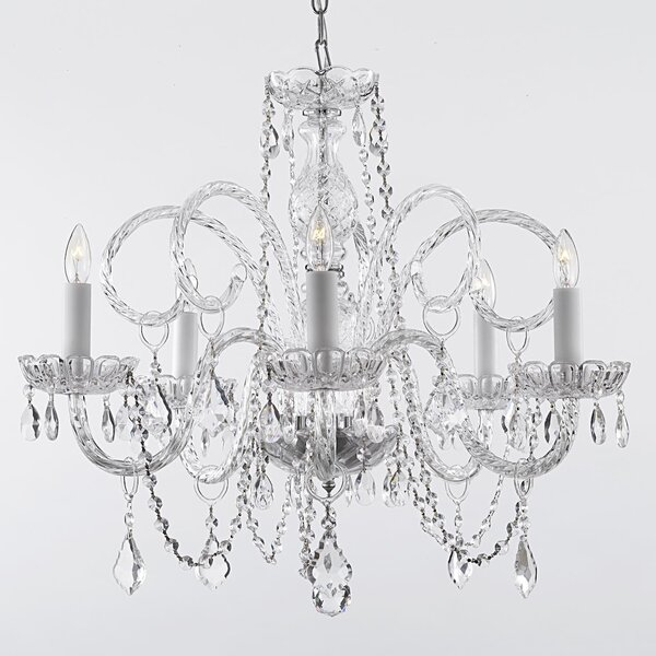 Caro 5-Light LED Candle Style Chandelier by Willa Arlo Interiors