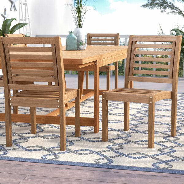 Brighton Stacking Patio Dining Chair (Set of 2) by Sol 72 Outdoor