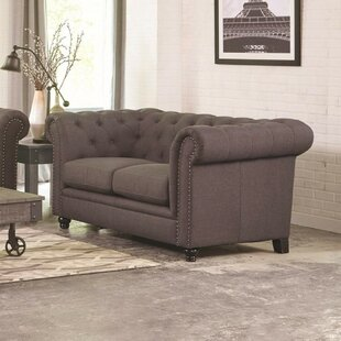 Caryl Transitional Loveseat
