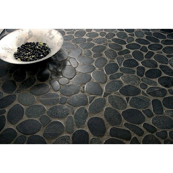 Rivera Random Sized Natural Stone Pebble Tile