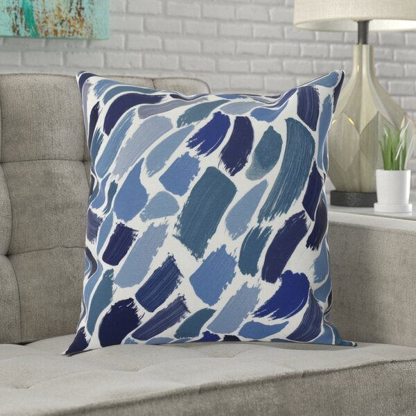 Goodlow Abstract Throw Pillow by Ivy Bronx