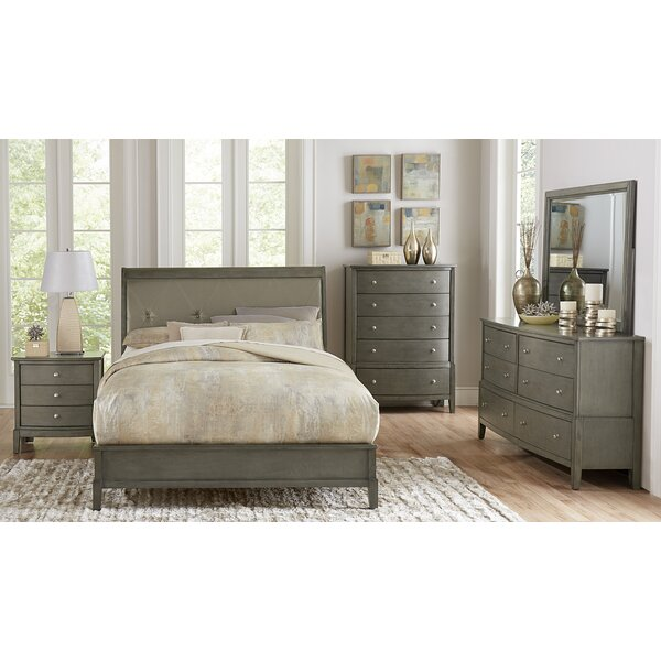 Jeffries Standard Configurable Bedroom Set by Wrought Studio