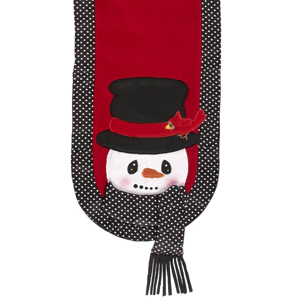 Snow Much Fun Snowman Table Runner by Precious Moments
