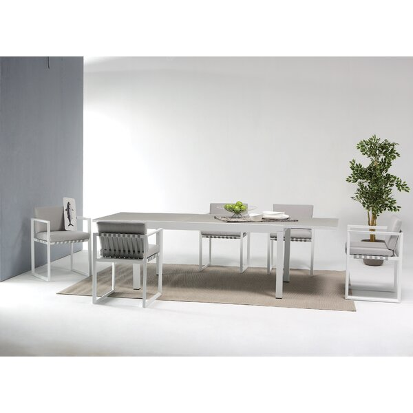 George 7 Piece Dining Set by Wade Logan