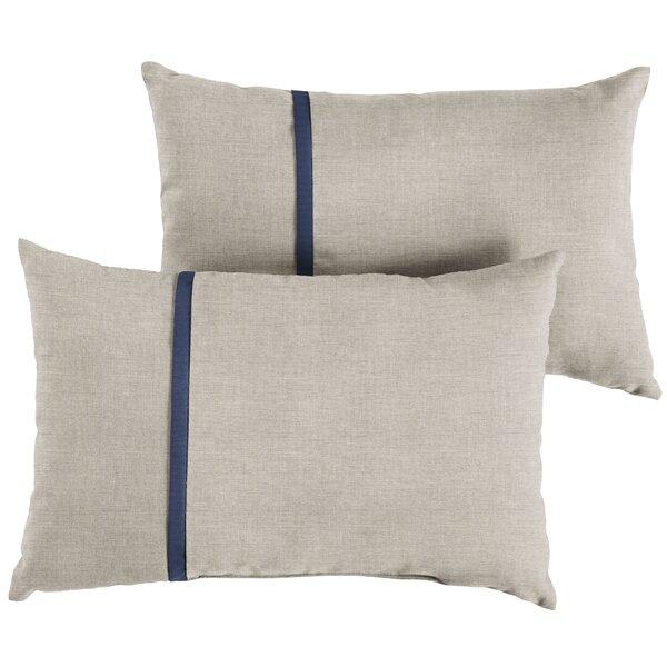 Coutu Indoor/Outdoor Lumbar Pillow (Set of 2) by 17 Stories