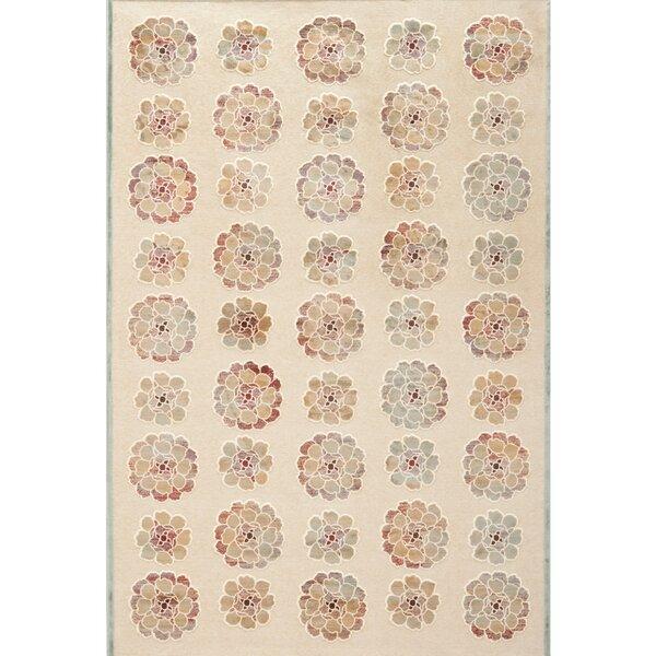 Martha Stewart Spruce / Cream Area Rug by Martha Stewart Rugs