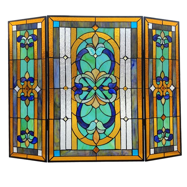 Henninger 3 Panel Iron Fireplace Screens By August Grove
