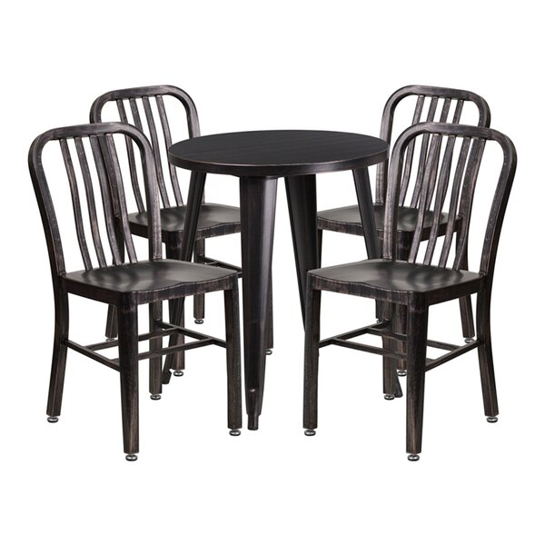 Mia 5 Piece Bar Height Dining Set by Williston Forge