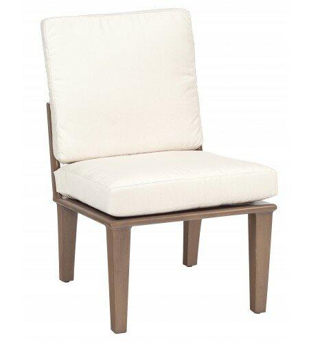 Van Dyke Patio Dining Chair with Cushion by Woodard