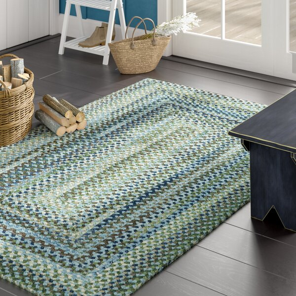 Holcombe Light Blue Area Rug by August Grove