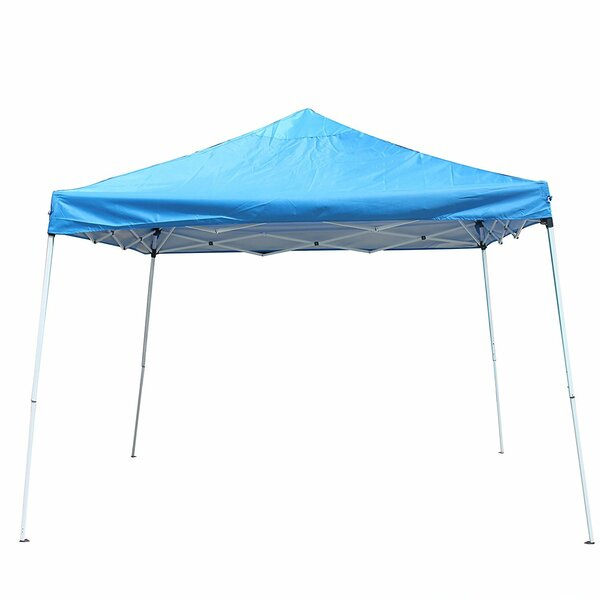 Collapsible 12 Ft. W x 12 Ft. D Pop-Up Canopy by ALEKO