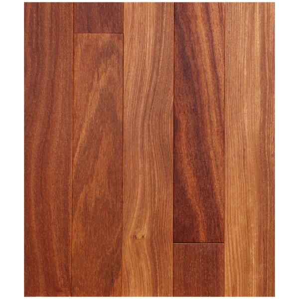 3-1/4 Solid Brazilian Teak Hardwood Flooring in Natural by Easoon USA