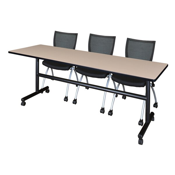 84'' W Marin Training Table with Chairs by Symple Stuff